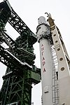 Вывоз и установка ракеты космического назначения «Ангара-1.2ПП» на стартовом комплексе космодрома Плесецк 15.jpg