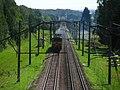 Железная дорога Молодечно - Минск. Railroad Maladziechna - Minsk. - panoramio.jpg
