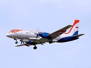Ilyushin Il-114 Regional airliner