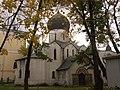 Марфо-Мариинская обитель. Покровский собор. Северный фасад - 011.JPG