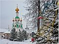 На Рождество в монастыре.jpg