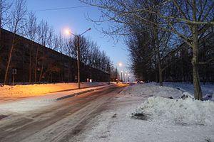Самая широкая улица Режа.