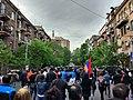 Քայլերթ Երևանում, Մաշտոցի պողոտա.jpg