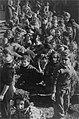 """ירושלים - טקס בט""""ו בשבט - ילדי הגימנסיה נוטעים בחצר המוסדות.-JNF014724.jpeg"""