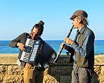 כליזמרים בנמל יפו.jpg