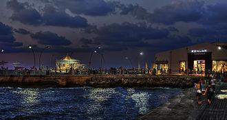 Tel Aviv Port - Tel Aviv port at night