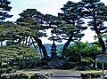 兼六園七福神山 Seven Lucky Gods Mount in Kenrokuen - panoramio.jpg