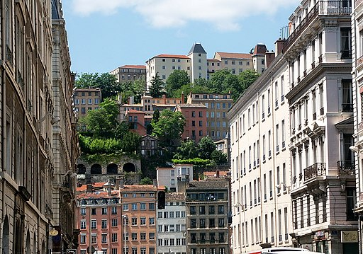 里昂老城區 Vieux Lyon - panoramio