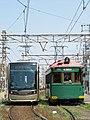 阪堺電軌軌道モ161形とモ1001形.jpg