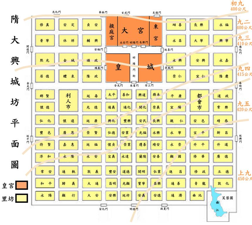 Chang'an Map