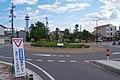飯田市東和町のラウンドアバウト(環状交差点) Roundabout in Tōwa-chō 2014.9.09 - panoramio.jpg