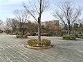 麓山の杜 杜のエントランスから見た日本庭園.jpg
