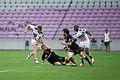 - Lyon olympique universitaire vs. Stade français, 8th August 2014 (2).jpg