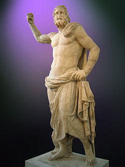 Poséidon de Milos, conservé au Musée national archéologique d'Athènes