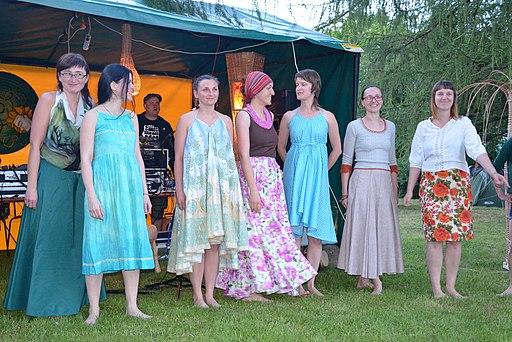 02014. Wickerman Fest at Kiczera Hill in Wola Sekowa (Slow Fashion)