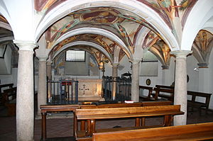 Basilica di San Calimero - The 16th century crypt
