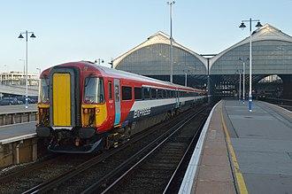 British Rail Class 442 - Gatwick Express Class 442 No. 442417 at Brighton