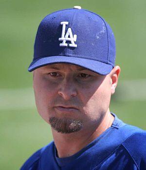 Jason Schmidt - Schmidt with the Los Angeles Dodgers