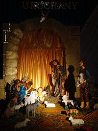 04652 Nativity scene at the Christ the King Church in Sanok, 2010.JPG