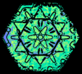 06 snowflake colorized early experimental digital photography by Rick Doble.png