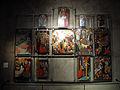 070 Centre d'interpretació de la Seu d'Ègara, fragments del retaule de Sant Pere.JPG