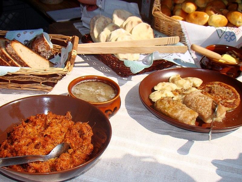 07425 Jahrmarkt in Sanok am 17 Juli 2011