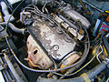 1.6L Honda VTEC engine in a 1992 Honda Civic EH5 saloon in Puchong, Malaysia (04).jpg