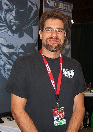 Andy Kubert - Kubert at the 2011 New York Comic Con