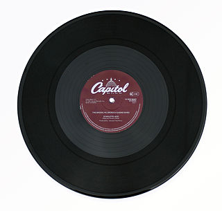 Twelve-inch single vinyl single; type of physical music format