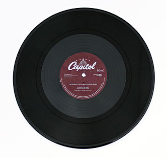 Single (music) - A twelve-inch gramophone record