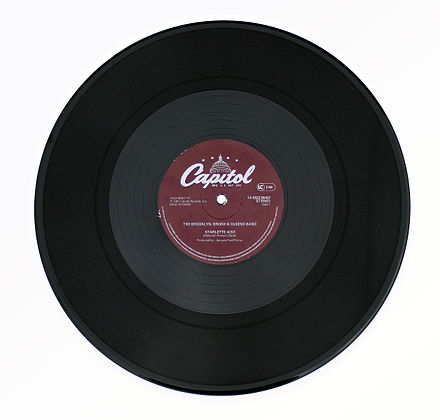 A twelve-inch gramophone record 12 Inch Single BBQ Band.jpg