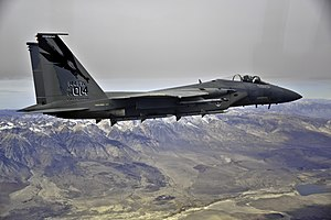 144th Fighter Wing - F-15C Eagle, AF Ser. No. 84-0014, of the 144th Fighter Wing