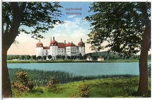 14879-Moritzburg-1912-Schloß-Brück & Sohn Kunstverlag
