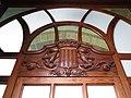 158 Sala Francesc Tarafa, antic hospital de Sant Domènec, c. Corró 47 (Granollers), escut.jpg