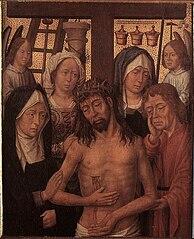 Crist dels dolors amb Maria, Joan Baptista i dues dones pietoses