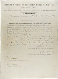 Fifteenth Amendment To The United States Constitution Wikipedia