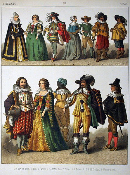 File:1600, French. - 087 - Costumes of All Nations (1882 ...