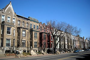 Strivers' Section Historic District - The 1700 block of U Street, N.W., in the Strivers' Section Historic District