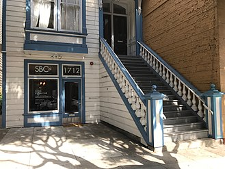 Bop City - The house formerly occupied by Bop City, now located at 1712 Fillmore Street.