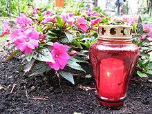 Grave candle