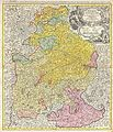 1728 Homann Map of Bavaria, Germany - Geographicus - Bavariae-homann-1728.jpg