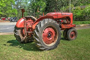 Allis-Chalmers Model WC - 1942 Model WC at Jarrell Plantation
