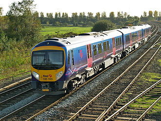 First TransPennine Express - 185103 at Castleton East Junction