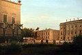 1855 Bruecke Ansicht auf das Denkmal Friedrichs des Grossen anagoria.JPG