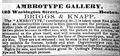 1856 Briggs and Knapp ambrotype gallery Boston advert.png