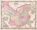 1865 Johnson Map of China ^ Taiwan - Geographicus - China-j-64.jpg