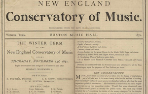 English: New England Conservatory of Music. In...