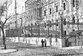 1891-05-30, La Ilustración Española y Americana, Estado actual de las obras de fábrica del edificio «Biblioteca y Museos Nacionales» (fachada del paseo de Recoletos) (cropped).jpg