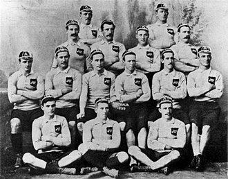 Rugby union in Australia - The Australia national team in 1899.