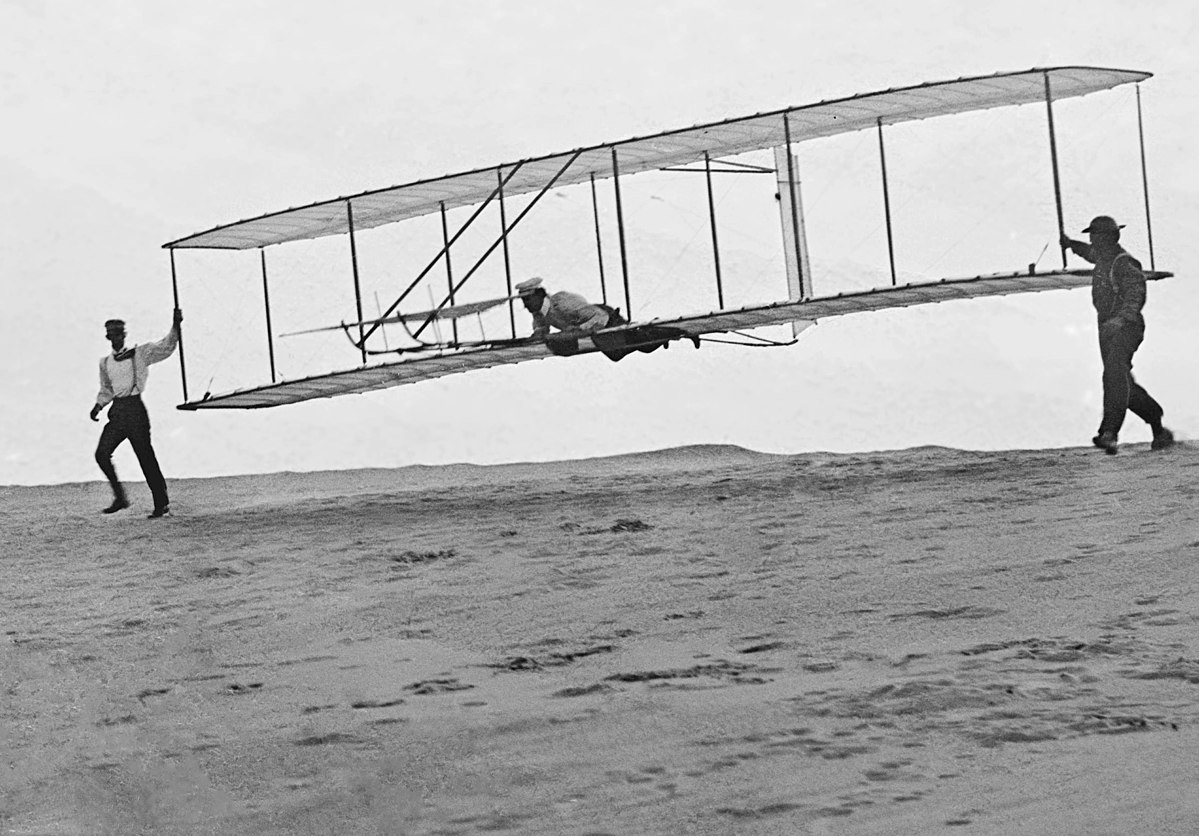 Wright Brothers & Plane